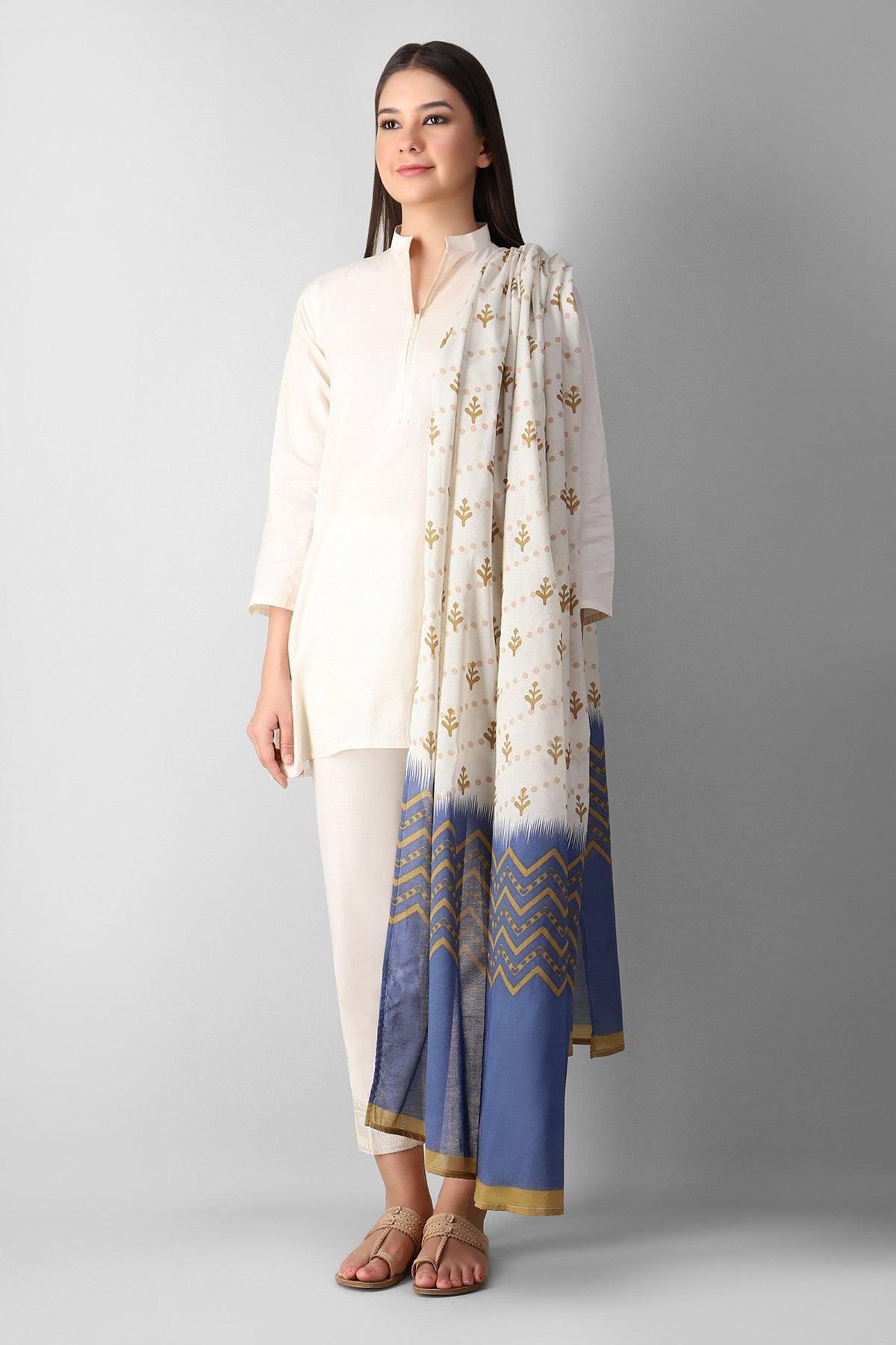 Khaadi Ee3pp21101s Beige Ready to Wear 2021