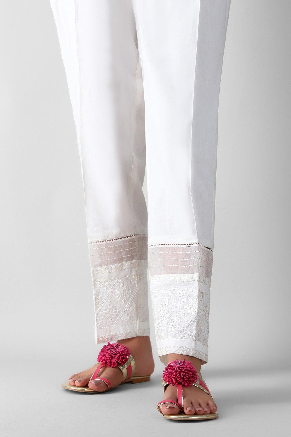 Khaadi Eepe21213 White Ready to Wear 2021