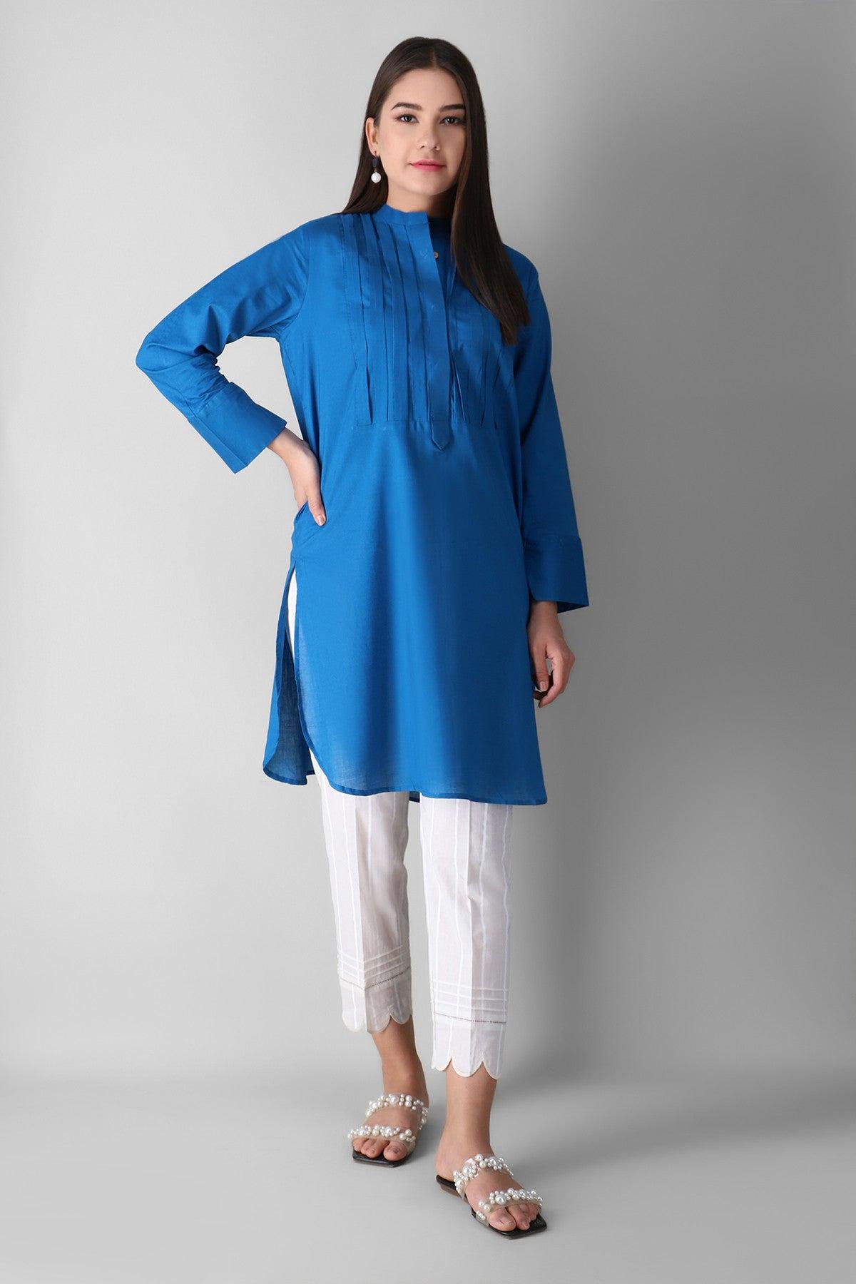 Khaadi Eeps21310t Blue Ready to Wear 2021