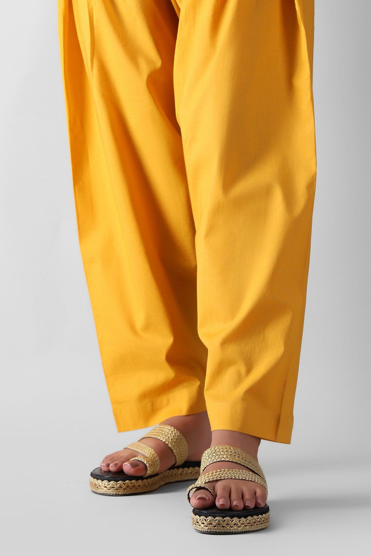Khaadi Eete21316b Yellow Ready to Wear 2021