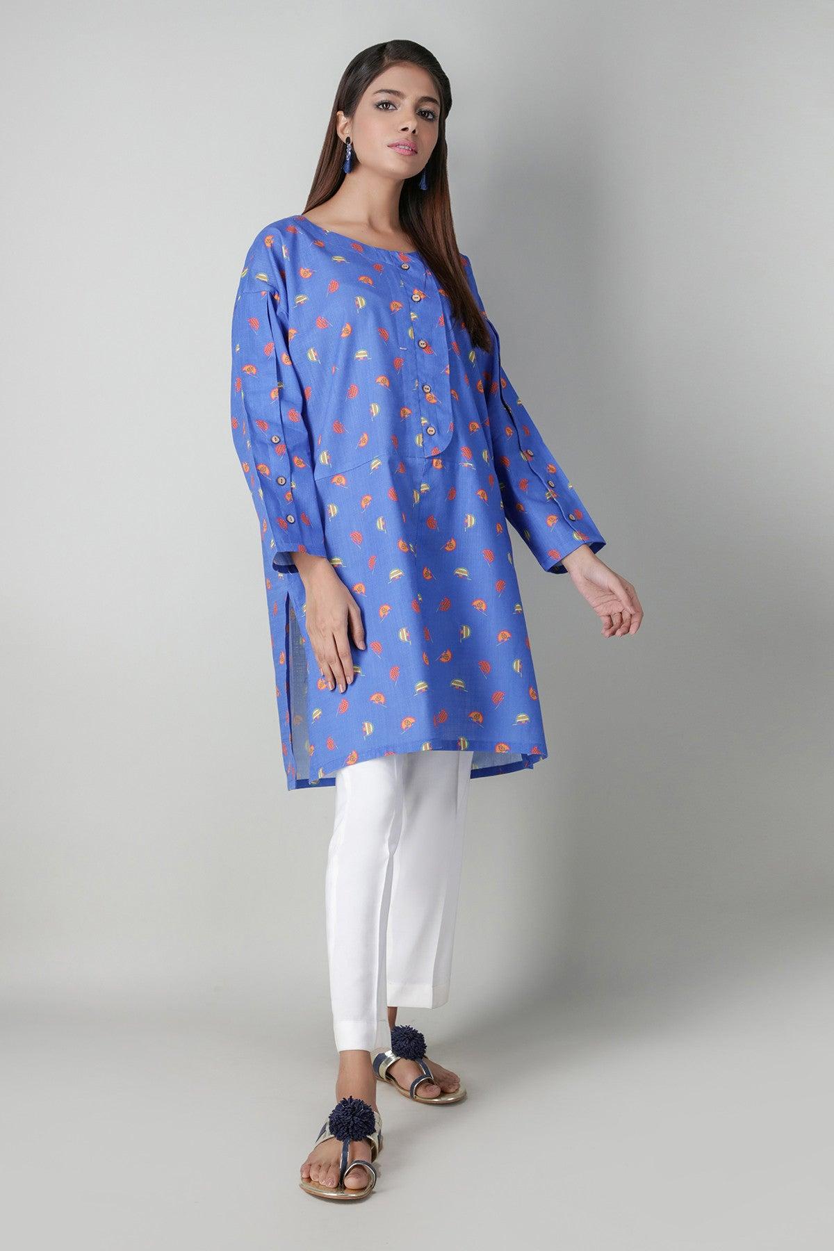 Khaadi EETP20406 BLUE Pret