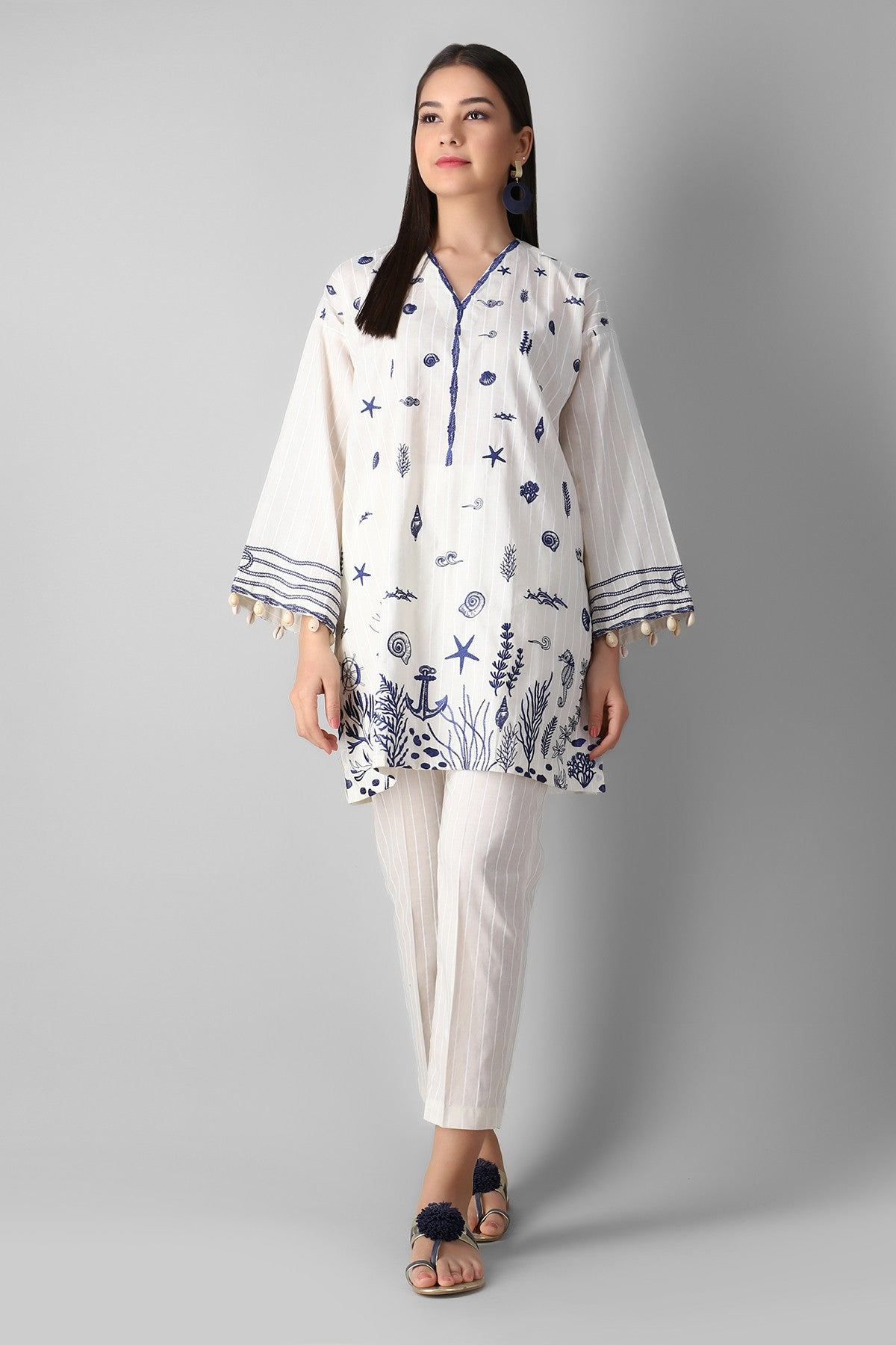 Khaadi Eskdpe21104t White Ready to Wear 2021