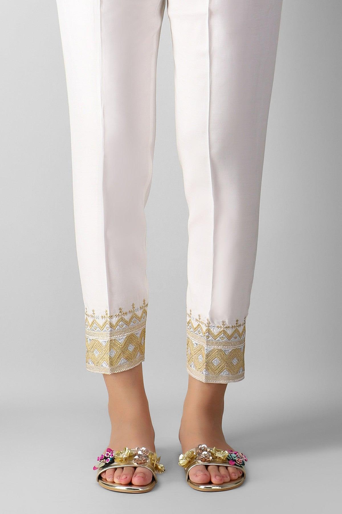 Khaadi Espe21107 White Ready to Wear 2021