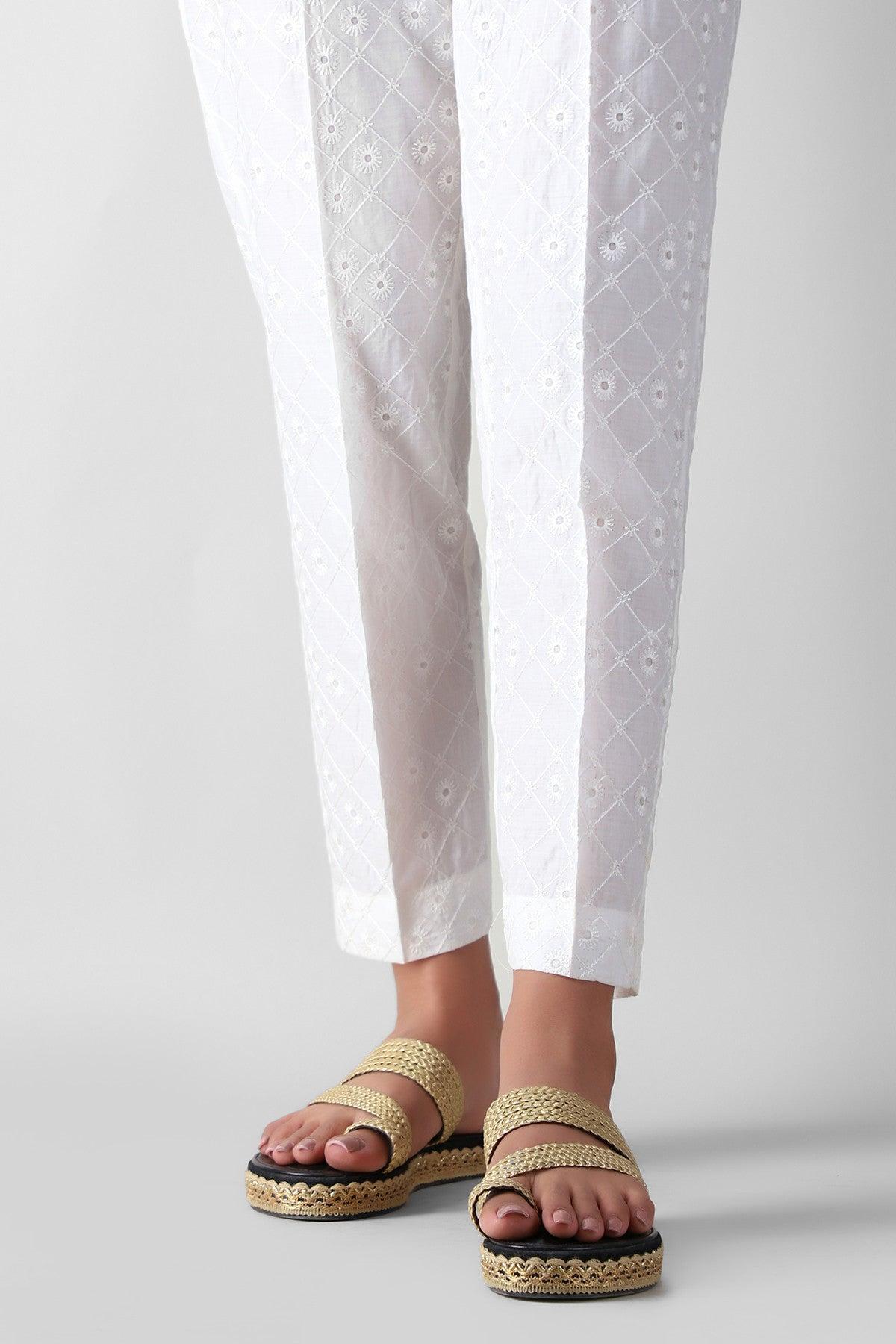 Khaadi Espe21313 White Ready to Wear 2021