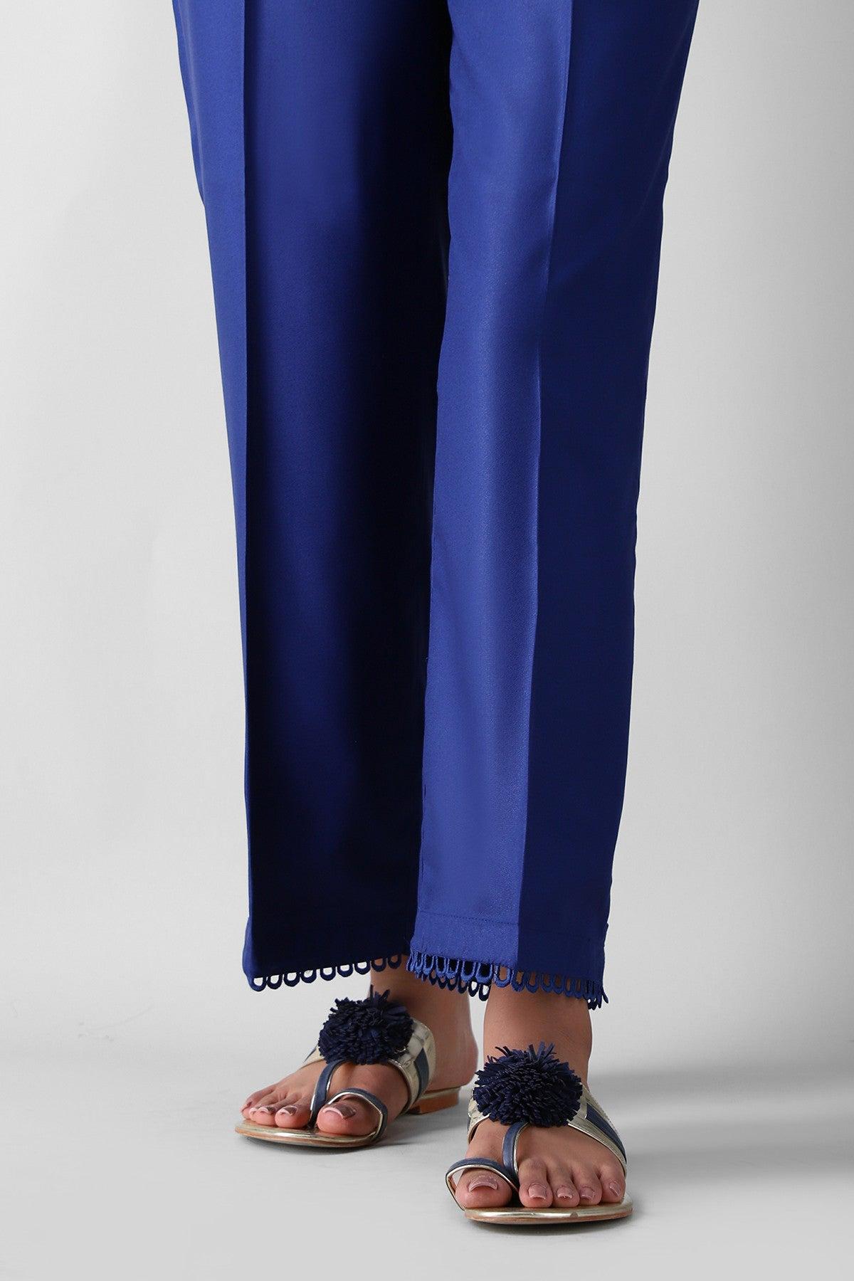 Khaadi Esps21303 Blue Ready to Wear 2021