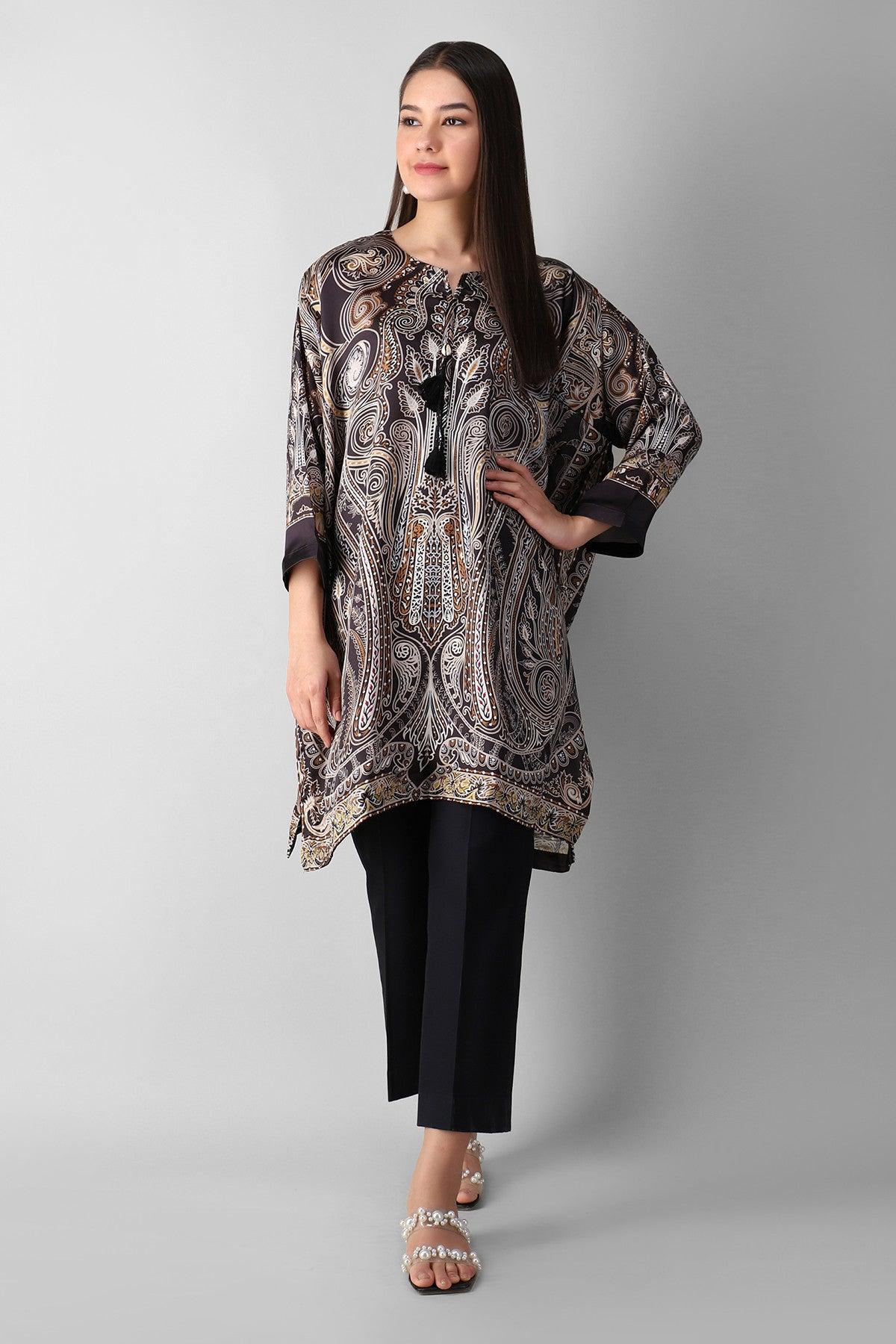Khaadi Estp21105 Black Ready to Wear 2021