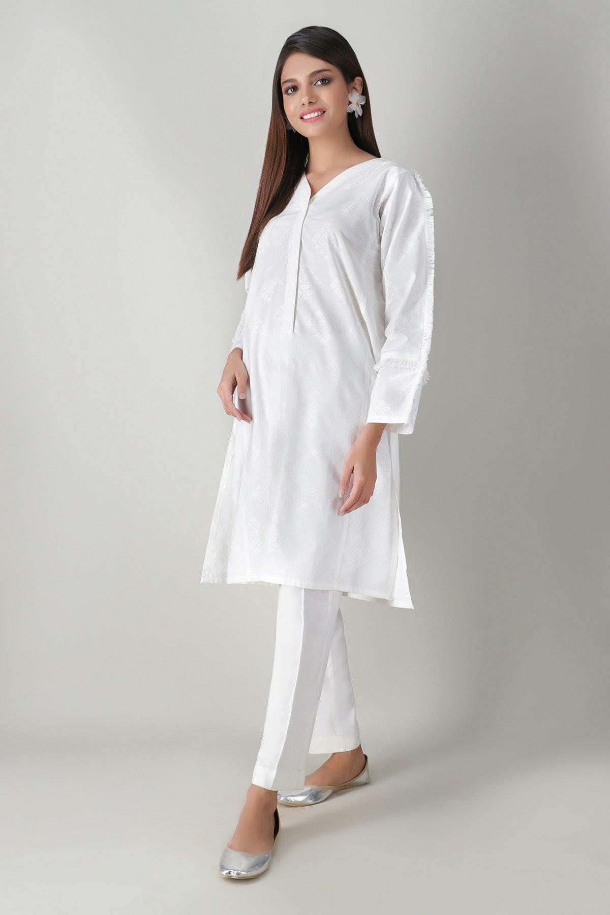 Khaadi ETB20306 WHITE Lawn Pret