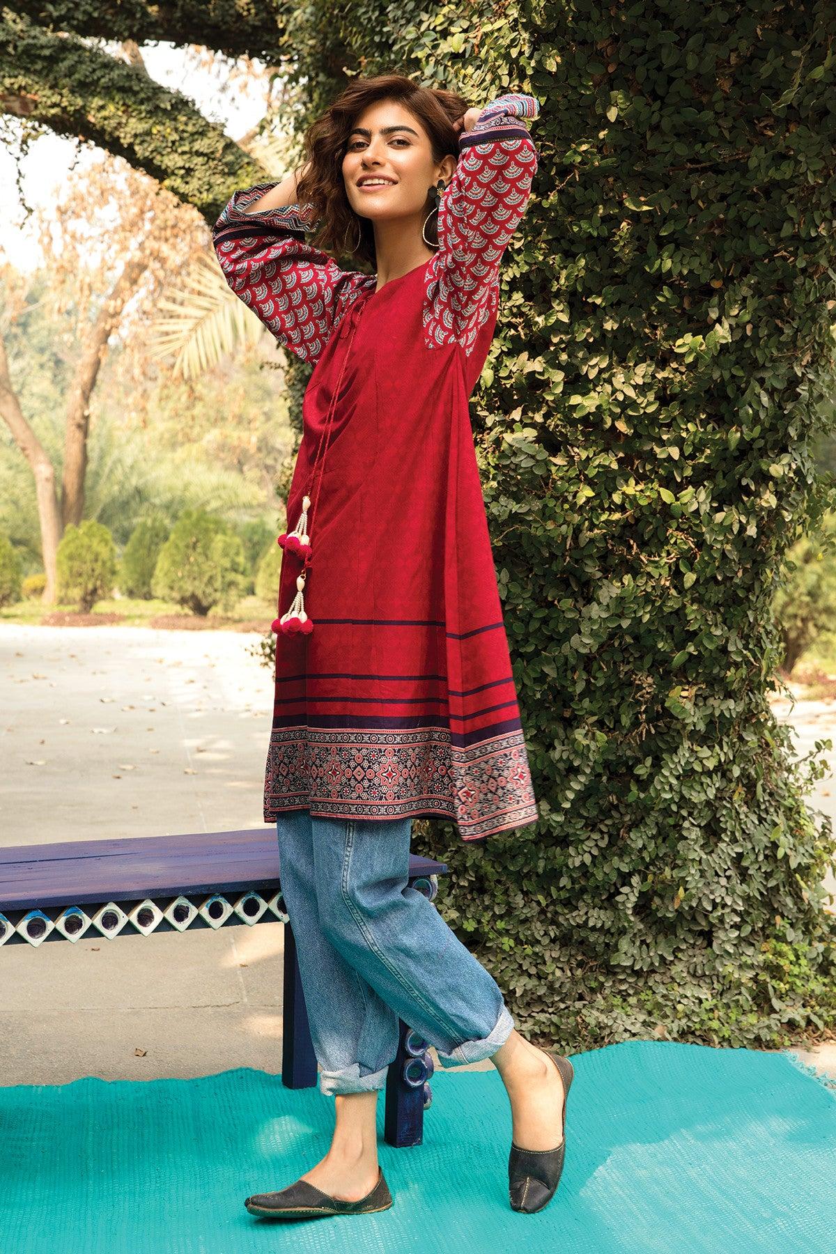 Khaadi ETP20371 RED Lawn Pret