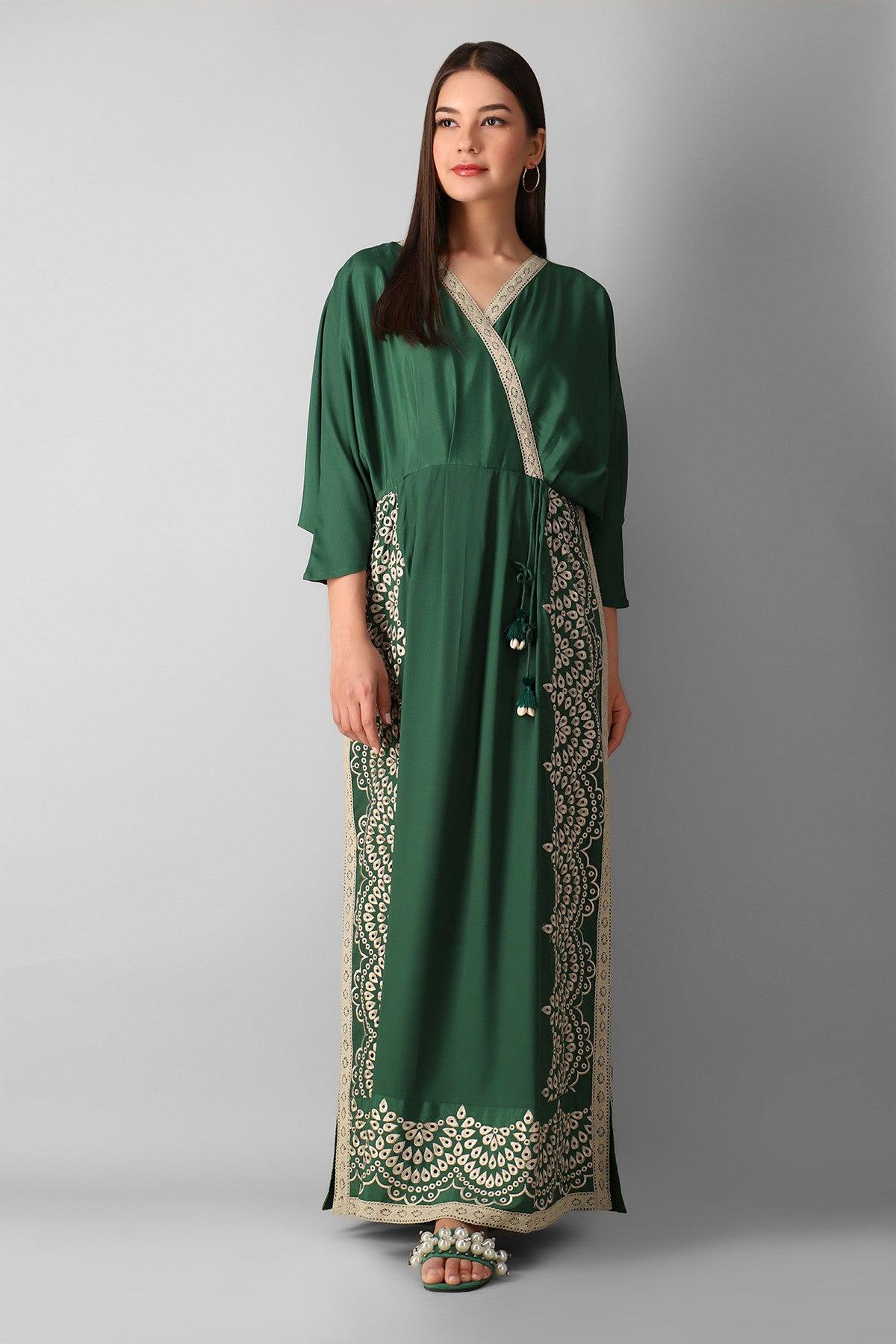 Khaadi Wscjae21303 Green Western 2021